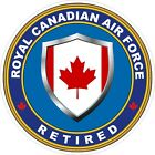 Royal Canadian Air Force RCAF Retired Decal / Sticker