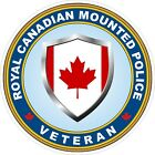 Royal Canadian Mounted Police RCMP Veteran Vet Decals / Stickers