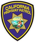 California Highway Patrol CHIP Shield Decals / Stickers