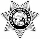 California Highway Patrol Chip Black & White Decals / Stickers