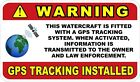GPS Tracking For Watercraft, Boats etc Decals / Stickers