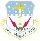 US Air Force USAF341st Missile Wing Decal / Sticker