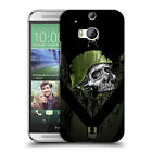 HEAD CASE DESIGNS METAL CHEVRON HARD BACK CASE FOR HTC ONE M8