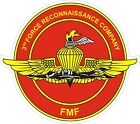 USMC Marine Corps 3rd Force Reconnaissance Recon Company Decal / Sticker