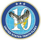 U.S. Navy 10th Fleet Decal / Sticker