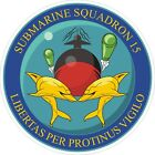 Commander Submarine Squadron 15 Decal / Sticker