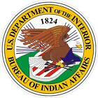 U.S. Bureau of Indian Affairs Seal Decals / Stickers