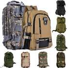 Outdoor Military Tactical Backpack Rucksacks Camping Hiking Trekking Bag BSTY US