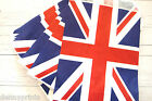 50 Union Jack Paper Bags - Sweets, Cake, Favours, Weddings, Queens Birthday