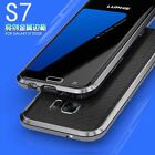 LUPHIE For Samsung Galaxy S7 Edge Metal Frame Aluminum Bumper Hard Case Cover