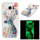 Ultra-thin Pattern Soft Case Glow In The Dark Luminous For Samsung Galaxy Phone
