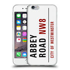 OFFICIAL LONDON STREET SIGNS SOFT GEL CASE FOR APPLE iPHONE PHONES