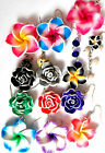 PRETTY COLLECTION OF FLOWER EARRINGS TROPICAL HAWAII FAST UK DELIVERY