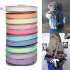 "NEW DIY 5-100yards 10mm 3/8""  Craft 10 color grosgrain Ribbon bow  hair decor"