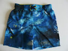 Boys Ocean Pacific Mesh Lined Blue Swim Shorts Ages 8-12