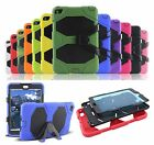 Rugged Defender Heavy Duty Stand Shockproof w/Screen Hybrid Case Cover For iPad