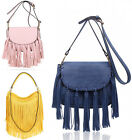 Women's Tassel Cross Body Bags Ladies Designer Fashion Handbags Cross Body Bag