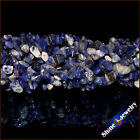 "1/2/5 PCS 36"" Strand Natural Sodalite Chip Gems Gravel Crystal Loose Beads 5-8mm"