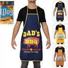 BBQ Cotton Mens Cooking Apron 84cm x 60cm Various designs available