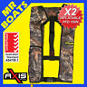 2 X AXIS INFLATABLE LIFEJACKET -CAMO- 150N PFD1 OFFSHORE Manual Jacket FREE POST