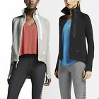 Nike Women's Tech Fleece Motto Jogging Running Full Zip Sweatshirt Cape Jacket