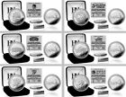Choose Your NBA Team 2016 Conference Division Champions Silver Medallion Coin