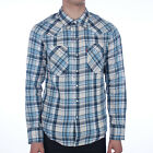 Mens Levis Barstow Western Chalky White Long sleeve Shirt