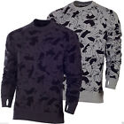 NIke Men's SB Everett Dudes French Terry Crew Neck Warm Activewear Sweatshirt