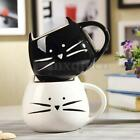 300ml Cute Cat Coffee Milk Tea Drink Ceramic Mug Couples Cup Lover Festival Gift