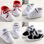 Fashion Baby Infant Crib Shoes Sport Sneaker Trainer Soft Sole Prewalker Size123