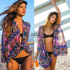 Neu Mode Damen Frauen Sexy Strandkleid Bikini Bademode Cover Up Kaftan Minikleid