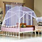 Portable Folding Mesh Canopy Curtain Dome Tent Mosquito Net Bedding Queen/King