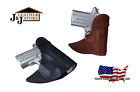 J&J CUSTOM FIT BERETTA NANO FORMED FRONT POCKET STYLE PREMIUM LEATHER HOLSTER