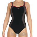 Panache Sport Swimwear Underwired Swimsuit/Swimming Costume Black 7340 NEW