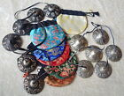 FAIR TRADE NEPALESE TINGSHA BELLS CHIMES CYMBALS 6.5CM WITH FREE BROCADE BAG