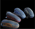 4-color Choosable Leather  Key Case Key Ring Key Chain Fob for Tesla Models