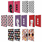 HEAD CASE DESIGNS CATS AND DOTS LEATHER BOOK CASE FOR SAMSUNG GALAXY TAB S2 9.7