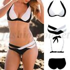 Sexy Women Bikini Set Bandage Push Up Top Swimwear Swimsuit Bathing Beachwear FO