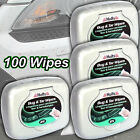 Simoniz Holts Bug & Tar Remover 4 Tubs of 25 Cleaner Wipes 100 wipes total