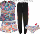 Ladies Little Mermaid Pyjamas Primark Disney Womens T Shirt Shorts Lounge Pant