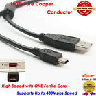 6ft USB 2.0 A Male to Mini-B 5pin Male Data Sync Charge Cable for Cell Phone GPS