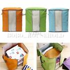 Large Foldable Storage Bag Clothes Blanket Quilt Laundry Bedding Zipped Handles