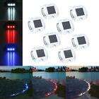 8 pack Solar LED Pathway Driveway Lights Dock Path Step Road 3 years 10 hours
