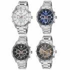 Seiko Men's Neo Sport Chronograph SS Watch with Colored Dial