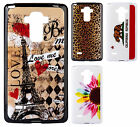 For LG G Stylo TPU CANDY Hard Gel Flexi Skin Case Phone Cover + Screen Guard