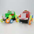 Baby Kids Developmental Toy Battery Operated Cute Cartoon  Somersault Car Toy