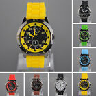 Unisex Rubber Silicone Jelly Gel Quartz Analog Watches Wrist Watch Men Women HOT