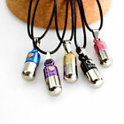 Always in my Heart Pill Cremation Jewelry Pendant Keepsake Memorial Urn Necklace