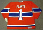 JACQUES PLANTE Montreal Canadiens 1959 CCM Vintage Throwback NHL Hockey Jersey