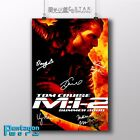 MISSION IMPOSSIBLE II Tom Cruise movie poster A4 signed Fire Action film 2000's